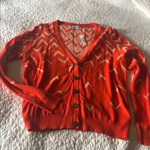 NWT madewell Wallace medium button down sweater